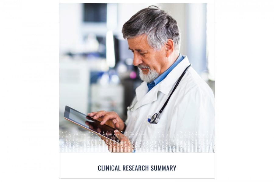 VERASENSE Clinical Research Summary 2018